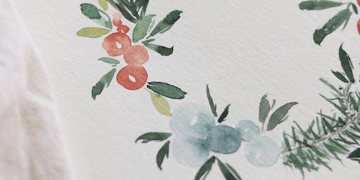 Christmas Watercolor Illustration Workshop