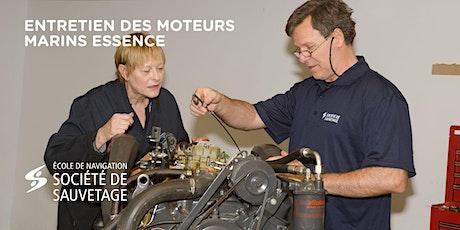 Entretien des moteurs marins Essence (20-17) tickets