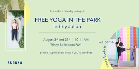 Free Yoga Class in the Park hosted by Scoria! tickets