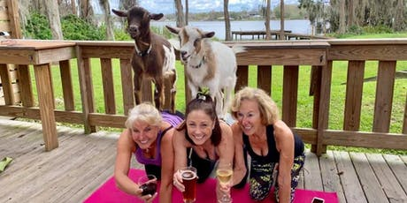 Goat Yoga plus free drink! 8/25/19 In the Loop tickets
