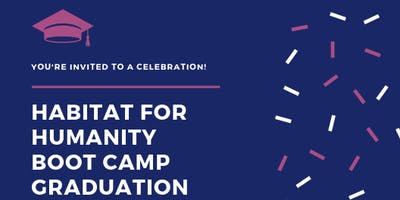 Habitat - Almost Home Boot Camp Graduation - September 2019
