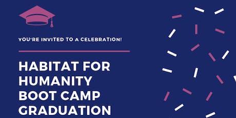 Habitat - Almost Home Boot Camp Graduation - September 2019 tickets
