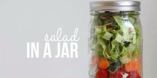August Salad in a Jar Party