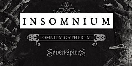 Insomnium, Omnium Gatherum, and Seven Spires
