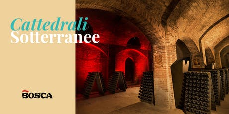 Tour in English - Bosca Underground Cathedral on 27th August 19 at 4:30pm biglietti