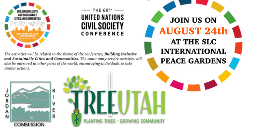 68th Annual UNCSC Community Activities - International Peace Gardens