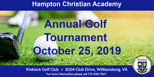 Hampton Christian Academy Annual Golf Tournament