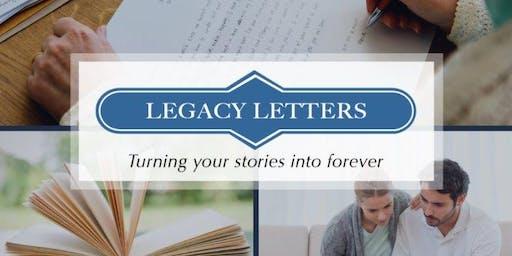 "Legacy Letters Workshop ""SOULful Letters"""