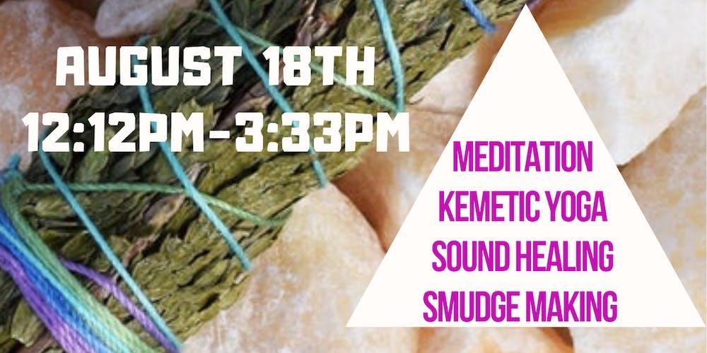 Kemetic Yoga Salon at Queen Hippie Gypsy Tickets, Sun, Aug 18, 2019