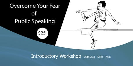 Copy of Overcome Your Fear of Public Speaking tickets