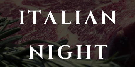 Italian Night tickets