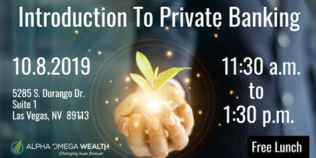 Alpha Omega Wealth Presents:  An Introduction To Private Banking tickets