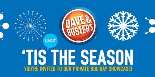 2019 Dave & Buster's , Utica, MI Holiday Showcase  4pm-7pm