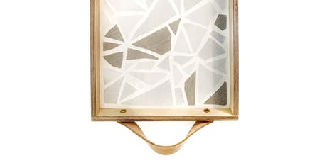 Mosaic Tile Serving Tray  tickets