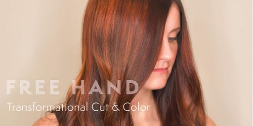 """""""Free Hand"""" Transformational Cut & Color"""