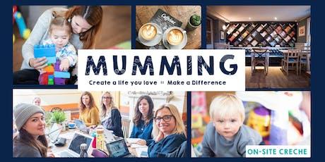 Mondays: Mumming Co-Working & Crèche  tickets