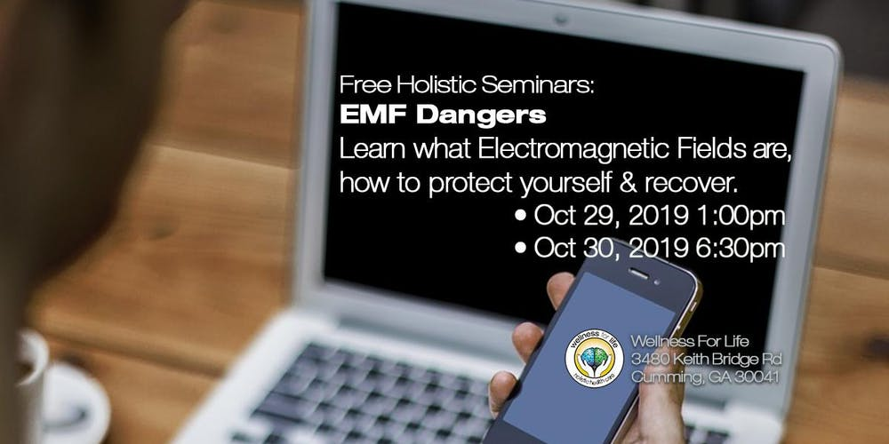 EMFs - FREE Health Seminar Tickets, Tue, Oct 29, 2019 at 1