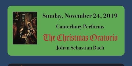 Bach Christmas Oratorio tickets