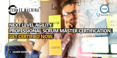 Professional Scrum Master Certification (PSM) - Canberra