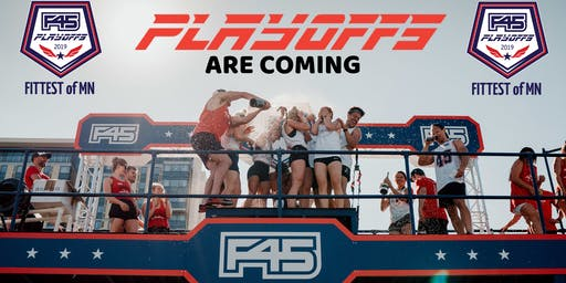 F45 Playoffs - Fittest of Minnesota Competition