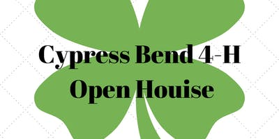 Cypress Bend 4-H Open House