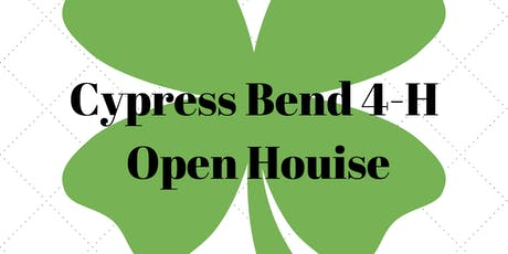 Cypress Bend 4-H Open House tickets