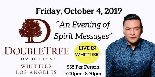 An Evening of Spirit Messages with Psychic Medium A.J. Barrera