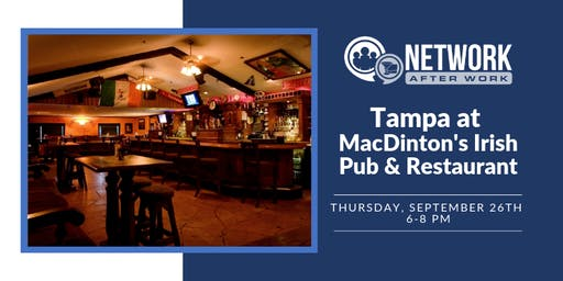 Network After Work Tampa at MacDinton's Irish Pub & Restaurant