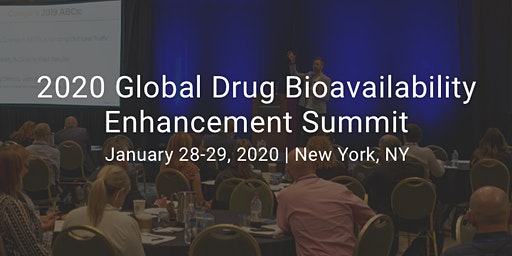 2020 Global Drug Bioavailability Enhancement Summit