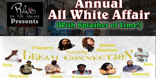 Riley's on the Square Presents… All White Affair (with a splash of lime)!