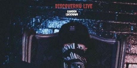 DiscoverNü Live: Camden Lockdown tickets