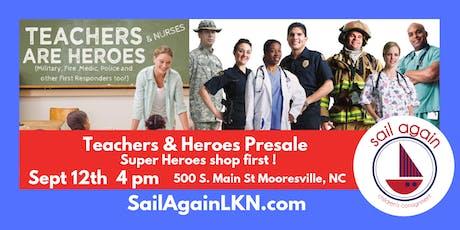 Sail Again's Teachers & Heroes Presale tickets