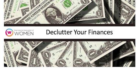 Declutter Your Finances tickets