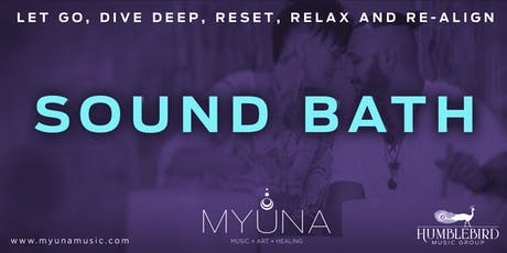 August Sound Bath tickets