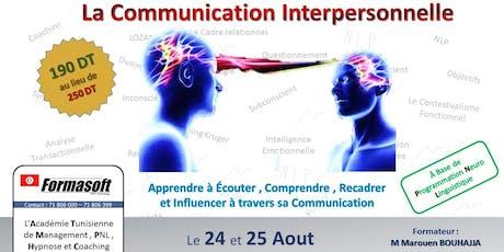 Communication interpersonnelle selon les bases de la PNL tickets