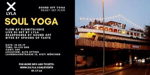 Sound Off Soul Yoga with DJ LYLA at Alte Utting