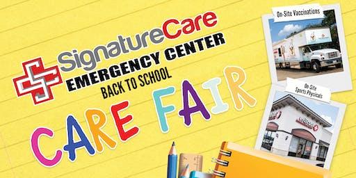 Back to School Care Fair