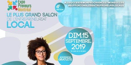 ExpoPreneurs MTL 4e Édition billets
