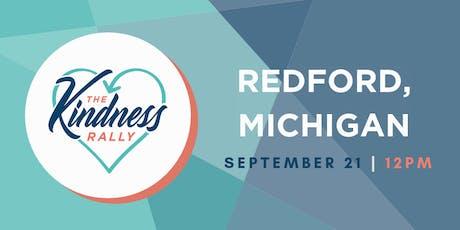 The Kindness Rally: Redford, MI tickets