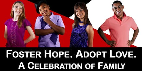 Foster Hope, Adopt Love Celebration. Family Builders' Annual Fundraiser. tickets