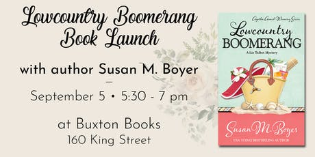 Charleston Book Launch for Lowcountry Boomerang with Susan Boyer tickets