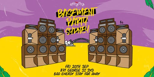 Sriracha Basement Party • Sydney