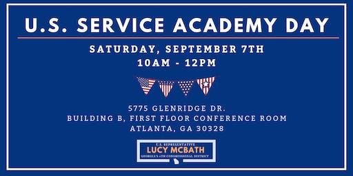 U.S. Service Academy Day with Representative Lucy McBath