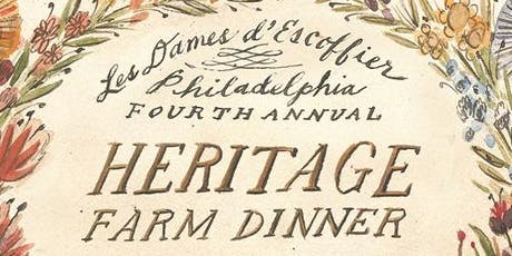Fourth Annual Heritage Farm Dinner honoring Ellen Yin tickets