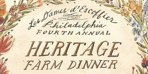 Fourth Annual Heritage Farm Dinner honoring Ellen Yin