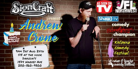 Signcraft presents Andrew Crone tickets