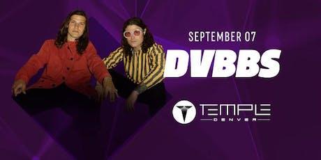 DVBBS tickets