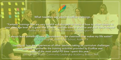 EcoRise: Cultivating Environmental Stewardship and Student Innovation: Dallas/Ft Worth Area tickets