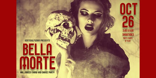 Bella Morte (5:00 Show): Halloween Pole and Aerial Dance Show