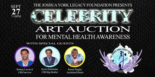 Celebrity Art Auction for Mental Health Awareness